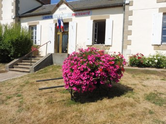 Photo mairie fleurie