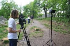 En tournage pour court-métrage
