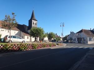 Vue place Treban